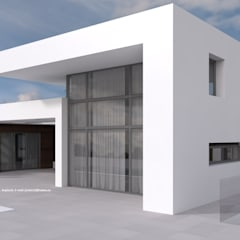 MAND: Villas de estilo  de ARQUITECTURA NATURAL, diseño Mediterráneo.