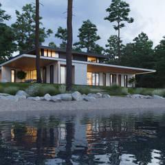 The Villa on the River: Вилла в . Автор – Kerimov Architects