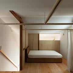 Re:NY: coil松村一輝建設計事務所が手掛けた寝室です。