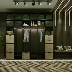 Corridor & hallway by Epatage Design E