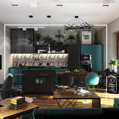 Дом в стиле LOFT: Кухни в . Автор – Epatage Design E