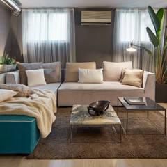 Living room by ESTUDIO DE CREACIÓN JOSEP CANO, S.L., Industrial
