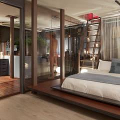 Bedroom by ESTUDIO DE CREACIÓN JOSEP CANO, S.L., Industrial