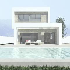 Green Sunset House: Casas unifamilares de estilo  de OC Arquitectura