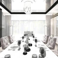 aranżacja jadalni: styl , w kategorii Jadalnia zaprojektowany przez ARTDESIGN architektura wnętrz