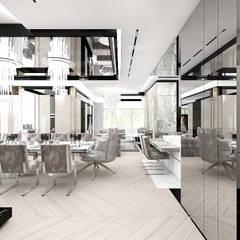 strefa dzienna domu: styl , w kategorii Korytarz, przedpokój zaprojektowany przez ARTDESIGN architektura wnętrz