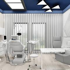 gabinet stomatologiczny: styl , w kategorii Kliniki zaprojektowany przez ARTDESIGN architektura wnętrz