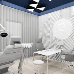 projekt wnętrza gabinetu stomatologicznego: styl , w kategorii Kliniki zaprojektowany przez ARTDESIGN architektura wnętrz