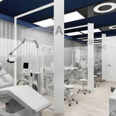 projekt gabinetów stomatologicznych: styl , w kategorii Kliniki zaprojektowany przez ARTDESIGN architektura wnętrz