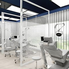 projekt wnętrz kliniki stomatologicznej: styl , w kategorii Kliniki zaprojektowany przez ARTDESIGN architektura wnętrz