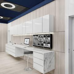 wnętrze gabinetu stomatologicznego: styl , w kategorii Kliniki zaprojektowany przez ARTDESIGN architektura wnętrz