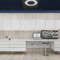 gabinety stomatologiczne: styl , w kategorii Kliniki zaprojektowany przez ARTDESIGN architektura wnętrz