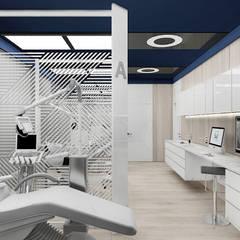 wnętrze gabinetu medycznego: styl , w kategorii Kliniki zaprojektowany przez ARTDESIGN architektura wnętrz