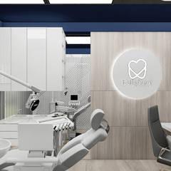 aranżacja gabinetu dentystycznego: styl , w kategorii Kliniki zaprojektowany przez ARTDESIGN architektura wnętrz