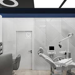 aranżacja gabinetu ortodontycznego: styl , w kategorii Kliniki zaprojektowany przez ARTDESIGN architektura wnętrz