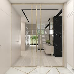 hol i wiatrołap: styl , w kategorii Korytarz, przedpokój zaprojektowany przez ARTDESIGN architektura wnętrz