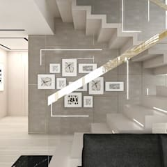 Stairs by ARTDESIGN architektura wnętrz, Eclectic