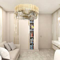 jasna aranżacja wnętrza: styl , w kategorii Domowe biuro i gabinet zaprojektowany przez ARTDESIGN architektura wnętrz