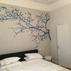 ห้องนอน by francesca cutini architetto