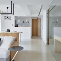 Built-in kitchens by 直方設計有限公司