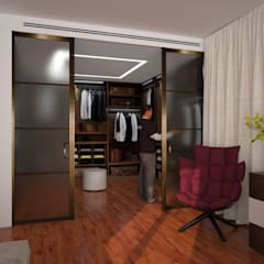 Dressing room by B+P architetti