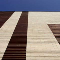Viviendas de Obra nueva en Cerdanyola del Vallès (Barcelona): Casas multifamiliares de estilo  de ZFA Arquitectura