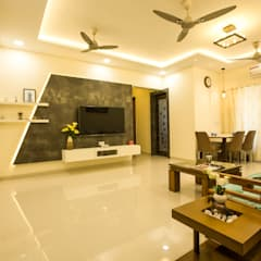 Living room by The 7th Corner - Interior Designer, Asian