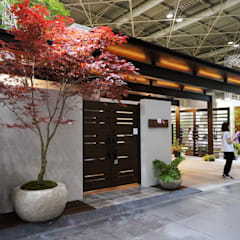 イベント装飾: (有)ハートランドが手掛けた廊下 & 玄関です。