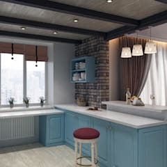 Dapur built in by Zibellino.Design