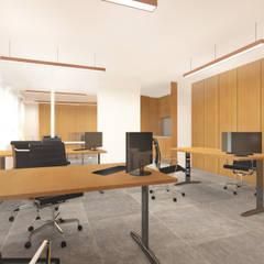 AUDICAMBRA : Edifícios comerciais  por AR Studio Architects