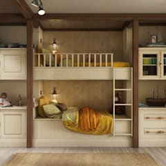 Teen bedroom by Zibellino.Design, Country