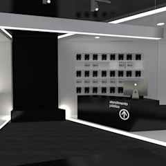 Espacios comerciales de estilo  por AR Studio Architects