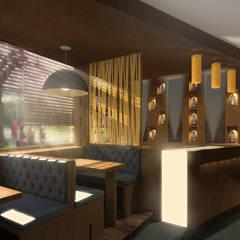 BRITANNIA: Bares e clubes  por AR Studio Architects