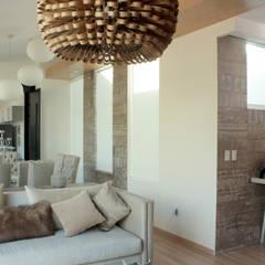Interiorismo. Penthouse AVE.: Paredes de estilo  por emARTquitectura
