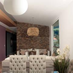 Interiorismo. Penthouse AVE.: Comedores de estilo  por emARTquitectura