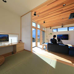 ワークスペース: ㈱ライフ建築設計事務所が手掛けた書斎です。
