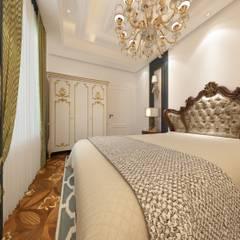 Derya Malkoç İç Mimarlık – yatak odası:  tarz Yatak Odası