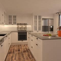 Derya Malkoç İç Mimarlık – Mutfak :  tarz Mutfak