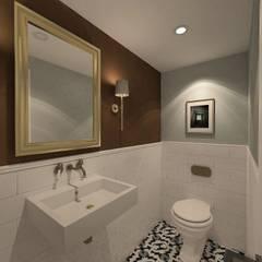 Derya Malkoç İç Mimarlık – CAFE/ BAYAN WC:  tarz Zeminler