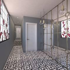 Derya Malkoç İç Mimarlık – CAFE WC GİRİŞ:  tarz Zeminler