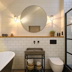 The Nook, Near Rock | Cornwall:  Bathroom by Perfect Stays