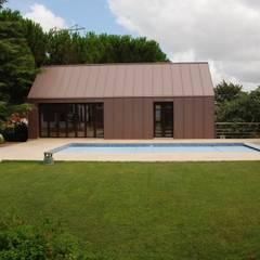 كوخ حديقة تنفيذ ZFA Arquitectura