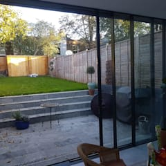 Bespoke House Extension project w4:  Doors by Design and Build London Renovation