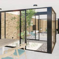Casa MV2: Estudios y oficinas de estilo  por VP Arquitectura