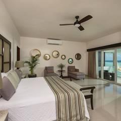 Dormitorios de estilo  por AC Construcciones