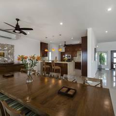 Dining room by AC Construcciones