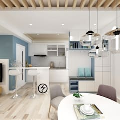 Small kitchens by 希爾達科技有限公司 HILDA TECHNOLOGY CO. LTD