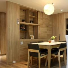 【住家】混搭美學的機能設計:  系統廚具 by 圓方空間設計