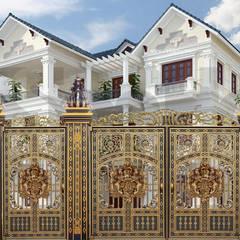 Puertas de vidrio de estilo  por CÔNG TY CỔ PHẦN SẢN XUẤT HOÀNG GIA HÀ NỘI,