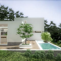 Garden Pool by RRA Arquitectura
